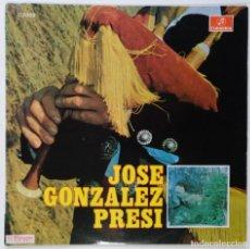 """Discos de vinilo: JOSE GONZÁLEZ PRESI ((OVIEDO GIJON ASTURIAS))) [[[ VINILO LP 12"""" 33RPM ]]] [[ LP DE 14 TEMAS 1969 ]]. Lote 208098056"""