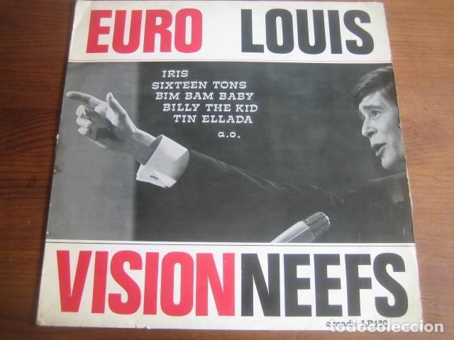 LOUIS NEEFS - EUROVISION ********** RARO LP 60'S ARCADE BELGICA (Música - Discos - LP Vinilo - Festival de Eurovisión)