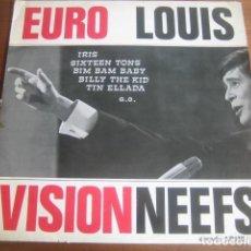 Discos de vinilo: LOUIS NEEFS - EUROVISION ********** RARO LP 60'S ARCADE BELGICA. Lote 208102772
