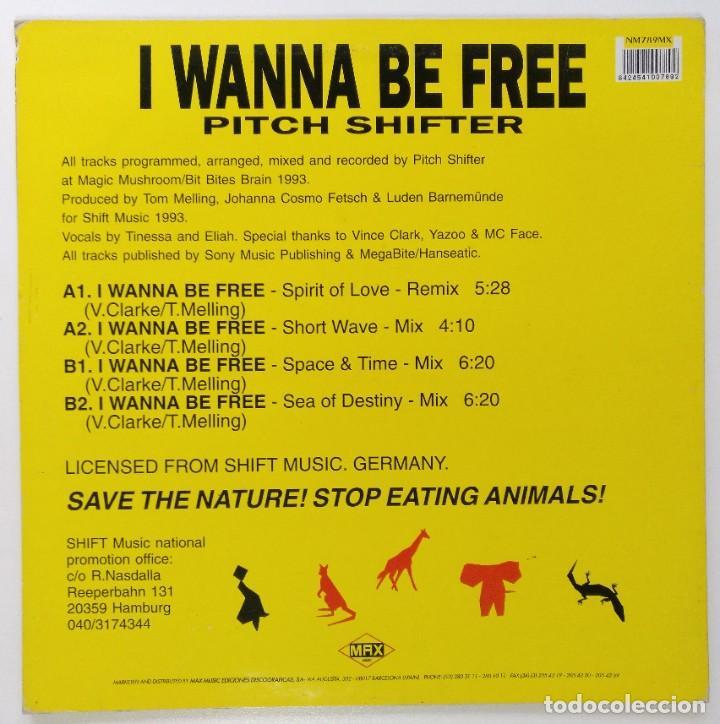 "Discos de vinilo: PITCH SHIFTER - I WANNA BE FREE [[[ VINILO MX 12"" 45RPM ]]] [[ 1993 ]] - Foto 2 - 208103273"