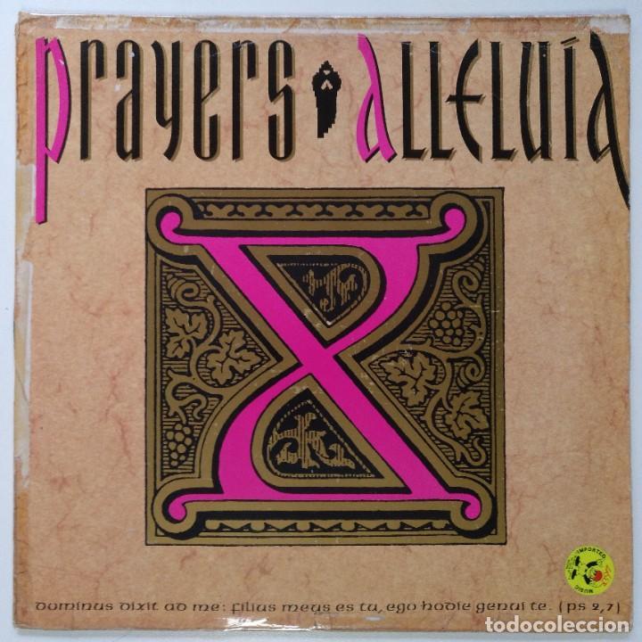 "PRAYERS - ALLELUIA / MAKE IT GROOVY [[[ VINILO MX 12"" 45RPM ]]] [[ 1990 ]] (Música - Discos de Vinilo - Maxi Singles - Rap / Hip Hop)"