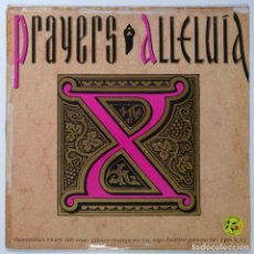 "Discos de vinilo: PRAYERS - ALLELUIA / MAKE IT GROOVY [[[ VINILO MX 12"" 45RPM ]]] [[ 1990 ]]. Lote 208106985"