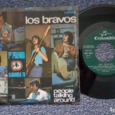Discos de vinilo: LOS BBRAVOS - PEOPLE TALKIHG AROUND / EVERY DOG HAS HIS DAY. EDITADO POR COLUMBIA. AÑO 1.970. Lote 208107108