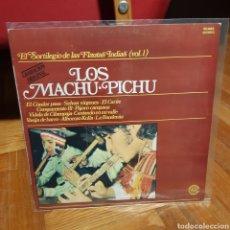 Discos de vinilo: LOS MACHU PICHU 'EL SORTILEGIO DE LAS FLAUTAS INDIAS VOL.1' LP. Lote 208107382