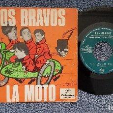 Discos de vinilo: LOS BRAVOS - LA MOTO / LA PRIMERA AMISTAD. EDITADO POR COLUMBIA. AÑO 1.966. Lote 208108383