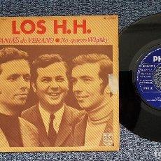 Discos de vinilo: LOS H.H. - LETANIAS DE VERANO / NO QUIERO WHISKY. EDITADO POR PHILIPS. AÑO 1.970. Lote 208108828