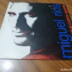 Discos de vinilo: MIGUEL RIOS. MIENTRAS EL CUERPO AGUANTE. PAUL Y JOHN. SINGLE. BUEN ESTADO. Lote 208110382