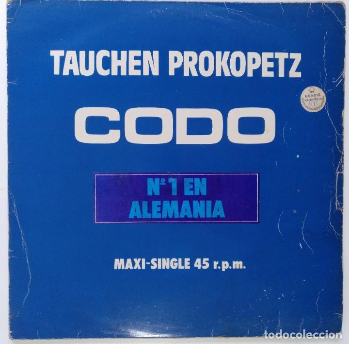 "TAUCHEN PROKOPETZ -CODO / ANKA [ELECTRONIC / POP / SYNTH POP] [[Nº1 EN ALEMANIA] [MX 12"" 45RPM] 1983 (Música - Discos de Vinilo - Maxi Singles - Pop - Rock - New Wave Internacional de los 80)"