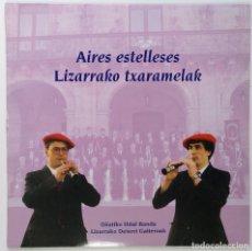 "Discos de vinilo: AIRES ESTELLESES [BANDA MUNICIPAL DE MUSICA DE OÑATI] [LIZARRAKO TXARAMELAK] [LP 12"" 33RPM] 1992. Lote 208137026"