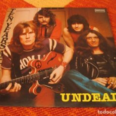 Disques de vinyle: TEN YEARS AFTER LP UNDEAD EN DIRECTO DERAM ESPAÑA 1989. Lote 208149310