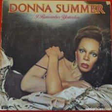 Discos de vinilo: DONNA SUMMER - I REMEMBER YESTERDAY - LP DE VINILO. Lote 208152896