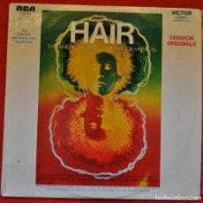 Discos de vinilo: HAIR Y CABARET - LOTE DE DOS MUSICALES EN VINILO. Lote 208154736