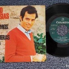 Discos de vinilo: JULIO IGLESIAS - ASI NACEMOS / SI VOLVIERAS OTRA VES. EDITADO POR COLUMBIA. AÑO 1.972. Lote 208154950