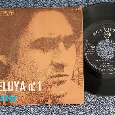 Discos de vinilo: LUIS EDUARDO AUTE - ALELUYA Nº 1 / ROJO SOBRE NEGRO. EDITADO POR RCA. AÑO 1.967. Lote 208155240
