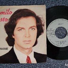 Discos de vinilo: CAMILO SESTO - PERDONAME / DÓNDE ESTÉS CON QUIÉN ESTÉS. EDITADO POR ARIOLA. AÑO 1.980. Lote 208156453