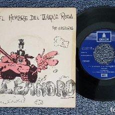 Discos de vinilo: LEANDRO - EL HOMBRE DEL TANQUE ROSA / ME GUSTARÍA. EDITADO POR EMI. AÑO 1.971. Lote 208156680