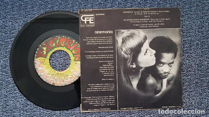 Discos de vinilo: Phil Trim - Ceremonia / No quiero nunca mas soñar. editado por Explosión. año 1.975 - Foto 2 - 208157668