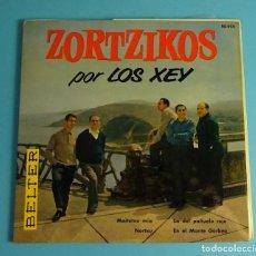 Discos de vinilo: LOS XEY. MAITETXU MIA / NORTXU / LA DEL PAÑUELO ROJO / EN EL MONTE GARBEA (EP BELTER 1961). Lote 208163900
