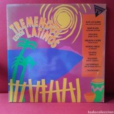 Discos de vinilo: VVAA 'TREMENDOS ÉXITOS LATINOS' 2XLP (JUAN LUIS GUERRA, RUBÉN BLADES, CELIA CRUZ, TITO PUENTE...). Lote 208164460