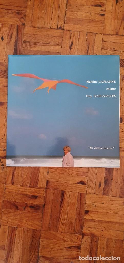 """MARTINE CAPLANE CHANTE GUY D'ARCANGUES """"LES OISEAUX-RONCES"""" LP (Música - Discos - LP Vinilo - Canción Francesa e Italiana)"""