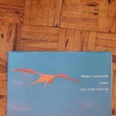 """Discos de vinilo: MARTINE CAPLANE CHANTE GUY D'ARCANGUES """"LES OISEAUX-RONCES"""" LP. Lote 208164935"""