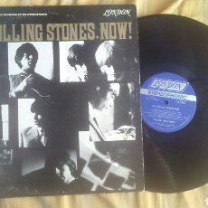 Discos de vinilo: THE ROLLING STONES LP NOW ED USA LABEL AZUL PS 420 1964 LONDON RARO VG. Lote 208168060