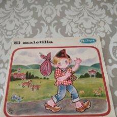 Discos de vinilo: DISCO CUENTO EL MALETILLA UN TESORO EN EL PAN. Lote 208171552