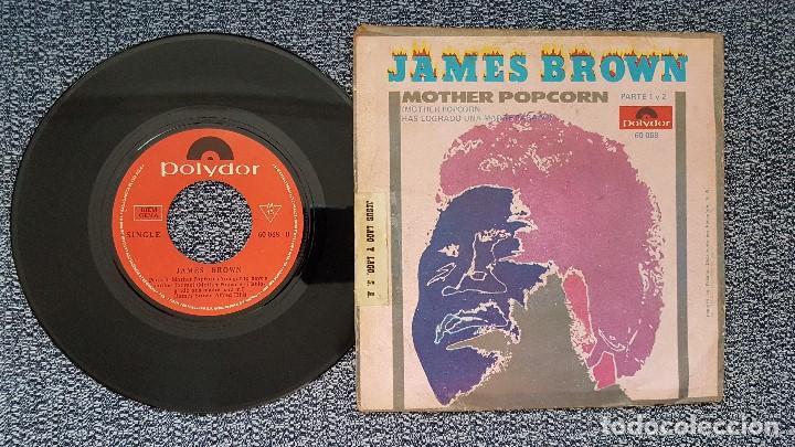 Discos de vinilo: James Brown - Mother Popcorn 1 parte y 2 parte. Editado por Polydor. año 1.969 - Foto 2 - 208172713