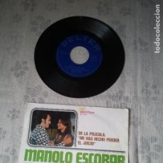 Discos de vinilo: DISCO DE VINILO RETRO DE MALOLO ESCOBAR. ANTIGUO VINILO MUSICA DJ´S CANTANTE. Lote 208177617
