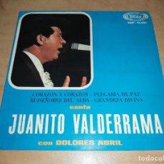 Discos de vinilo: JUANITO VALDERRAMA SINGLE 1968 -FLAMENCO-RAFAEL FARINA (COMPRA MINIMA 15 EUR). Lote 208188132