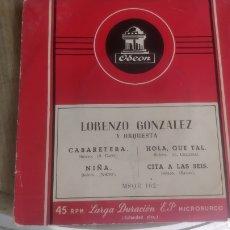 Discos de vinilo: VINILO LORENZO GONZALEZ. Lote 208188853