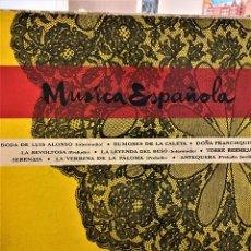 Discos de vinilo: MÚSICA ESPAÑOLA LP - FEDERICO MORENO TORROBA Y RAFAEL FERRER - ORQUESTA SINFÓNICA. Lote 208191128