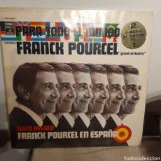 Discos de vinilo: FRANCK POURCEL 'PARA TODO EL MUNDO + F.P. EN ESPAÑA' 2XLP. Lote 208191590