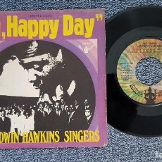 Discos de vinilo: T.HE EDWIN HAWKINS SINGERS - OH, HAPPY DAY / JESUS LOVER OF MY SOUL. AÑO 1.969 - BUDDAH RECORDS. Lote 208191747
