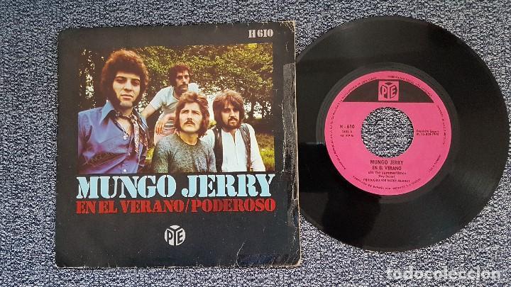 MUNGO JERRY - EN EL VERANO / PODEROSO. EDITADO POR HISPAVOX. AÑO 1.970 (Música - Discos - Singles Vinilo - Pop - Rock Internacional de los 50 y 60)