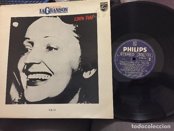 Discos de vinilo: LP EDITH PIAF - EDITION LA CHANSON - VOL VI - Foto 1 - 208192977