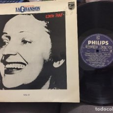 Discos de vinilo: LP EDITH PIAF - EDITION LA CHANSON - VOL VI. Lote 208192977