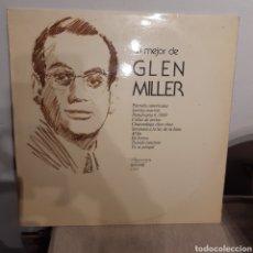 Discos de vinilo: LO MEJOR DE GLEN MILLER LP. Lote 208193063