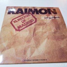 Discos de vinilo: LPS(2)-RAIMON-CONCIERTO DE MADRID-LETRAS EN HOJAS EN INTERIOR-ABIERTO-1976-MOVIEPLAY. Lote 208193476