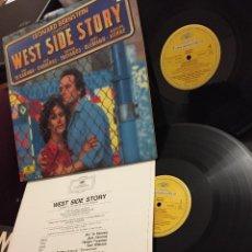Discos de vinilo: WEST SIDE STORY / LEONARD BERNSTEIN. DOBLE LP - GATEFOLD / GRAMMOPHON. Lote 208193633
