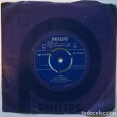Disques de vinyle: GUY MITCHELL. TWO/ HEARTACHES BY THE NUMBER. PHILLIPS, UK 1959 SINGLE. Lote 208194808