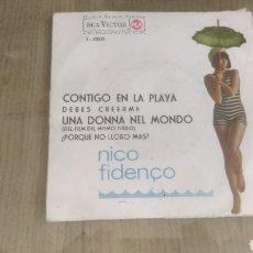 Discos de vinilo: VINILO NICO FIDELCO. Lote 208199191