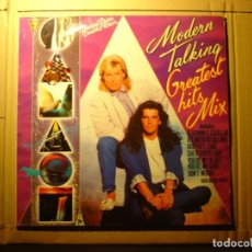 Discos de vinilo: MODERN TALKING - GREATEST HITS MIX - 2XLP VINILO. Lote 208199482