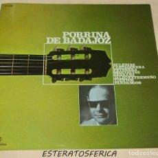 Discos de vinil: PORRINA DE BADAJOZ - COLUMBIA 1971. Lote 208206651