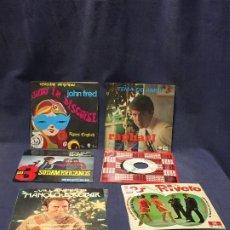 Discos de vinilo: LOTE DISCOS 6 45RPM AÑOS 60 70 ESCOBAR RIVERO RAPHAEL 3 SUDAMERICANOS JUDY JOHN FRED. Lote 208219690