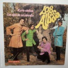 Discos de vinilo: LOS ALBAS- KYRIE ELEISON- SINGLE 1968.. Lote 208222007