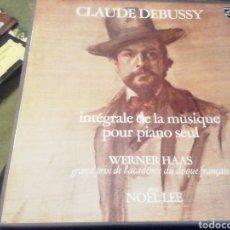 Discos de vinilo: CLAUDE DEBUSSY. INTEGRALE DE LA MUSIQUE POUR PIANO SEÚL. VINILO. 6 DISCOS.. Lote 208240653