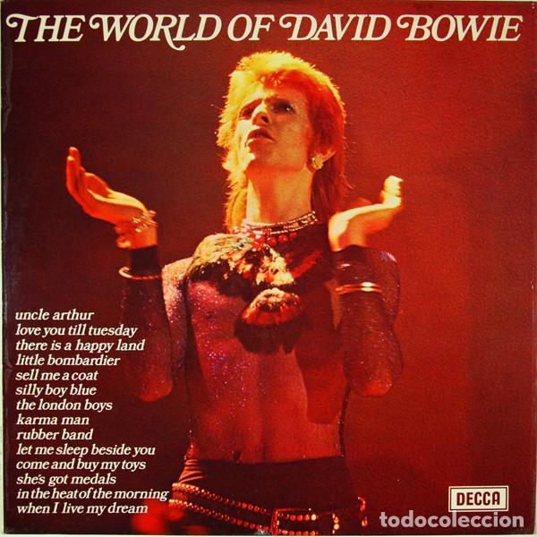 DAVID BOWIE - THE WORLD OF DAVID BOWIE - EDICION UK 1970 (Música - Discos - LP Vinilo - Pop - Rock - Extranjero de los 70)