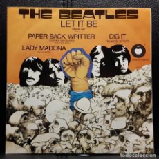 Dischi in vinile: BEATLES - LET IT BE - DIG IT - EP - MEXICO - APPLE - RARO - PAUL MCCARTNEY - NO USO CORREOS. Lote 208245053
