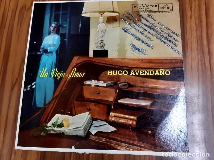 HUGO AVENDAÑO UN VIEJO AMOR LP RCA VICTOR EDICION MEXICO (Música - Discos - LP Vinilo - Grupos y Solistas de latinoamérica)